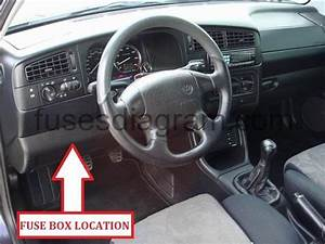 Fuse Box Volkswagen Golf 3