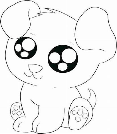 Coloring Puppy Pages Dog Printable Sad Getdrawings