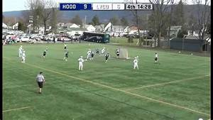Men's Lacrosse vs Hood - YouTube