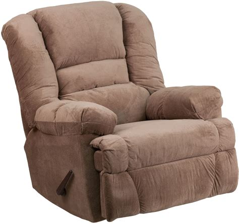 Microfiber Recliner by Contemporary Dynasty Camel Microfiber Rocker Recliner From