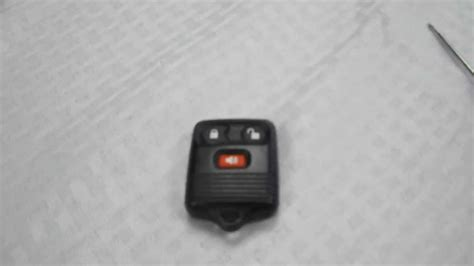 replace ford    key fob battery