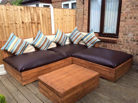 plan canapé bois diy pallet corner sofa pallet ideas recycled upcycled