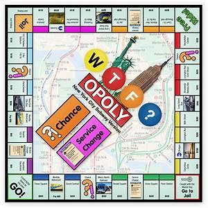 Wtfopoly  New York City Subway Edition Monopoly Game  U2013 I