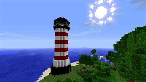 simple home plans lighthouse minecraft project
