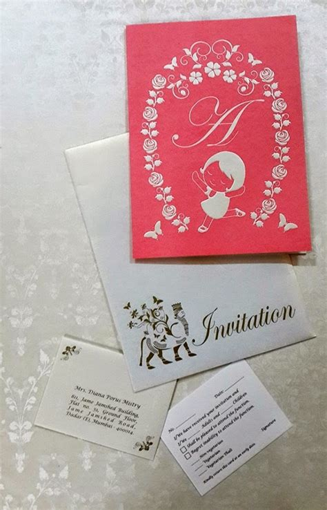 zinia jc navjote invitation card designs