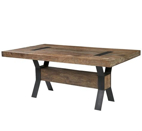 wood steel dining table furniture best design ideas of reclaimed wood dining