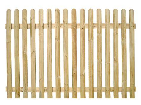 Wooden Picket Fence Transparent Background