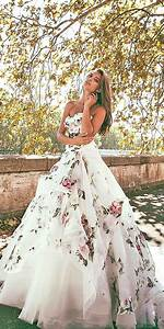 beautiful non traditional wedding dress ideas 13 vis wed With flower dress for wedding
