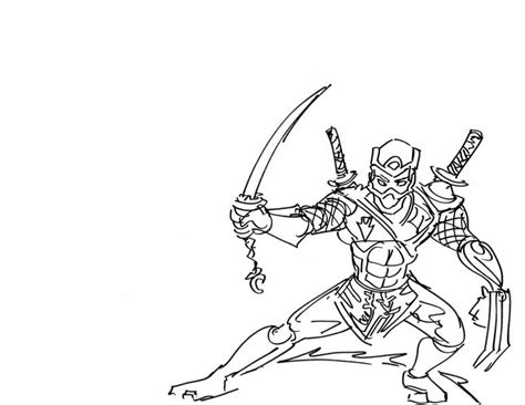ninja street fighter coloring pages print coloring