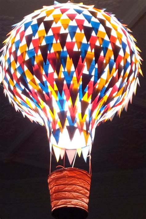 Hamilton Ceiling Fans by Paper Light Shade Air Balloon