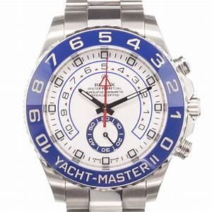 Rolex Yacht Master II Infos Price History CHRONEXT