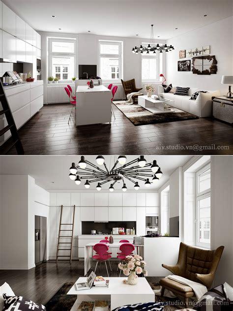 studio apartment interiors inspiration architecture design