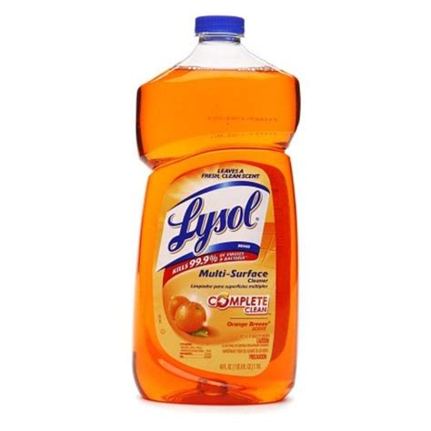 I'm learning all about Lysol Complete Clean Multi-Surface