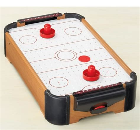 tabletop mini air hockey game  ebay