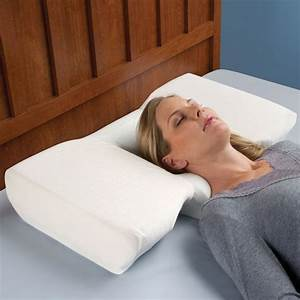 neck pain relieving pillow the green head With best pillow for someone with neck problems