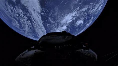 Get Tesla Car In Space Live Images