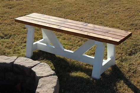 Ana White  Fire Pit Benches  Diy Projects