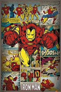 Marvel posters - Marvel Iron Man poster PP32742 - Panic
