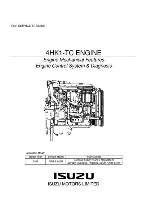 Npr Manual Diagrama Motor Isuzu Training Pdf