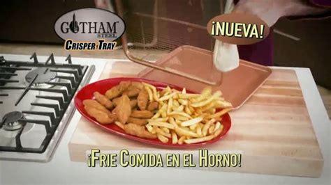 gotham steel crisper tray tv commercialcomida frita  daniel gree ispottv