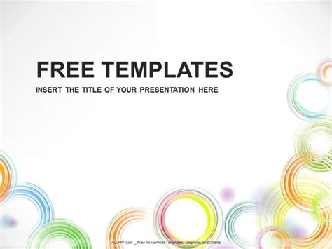 free powerpoint template design circle illustration powerpoint templates design free daily updates