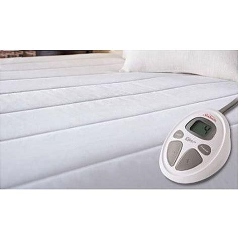 size heated mattress pad sunbeam 7117 030 000 xl college room size heated