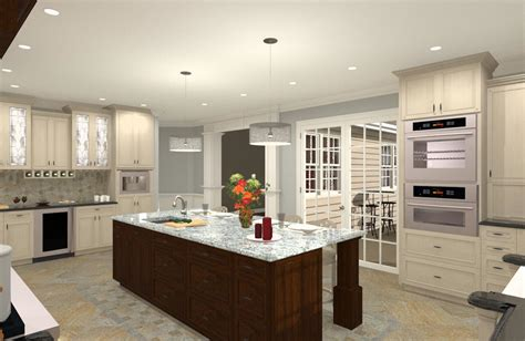 gourmet kitchen addition design  monmouth county nj