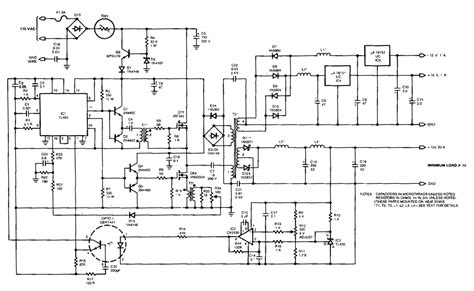 wiring diagram switching power supply 100khz output switching power supply circuit diagram