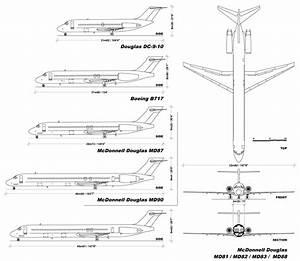Comparison Of Boeing 717  Mcdonnell Douglas Dc