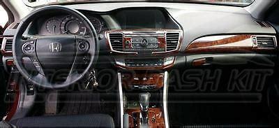 honda accord    sport touring interior wood dash trim