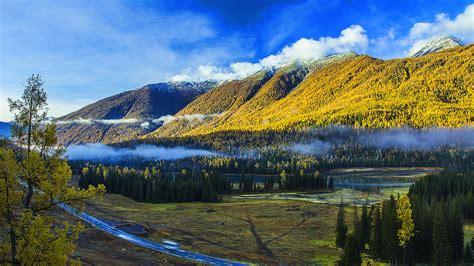 Kanas Lake Xinjiang China Travel Photo Hd Wallpaper 11