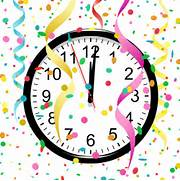 Try out these New Year   s Eve clock theme ideas   New Years Eve Clock Clip Art