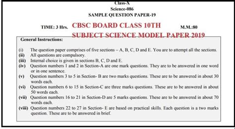 latest cbse sample papers  class   subjects