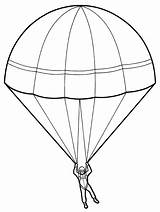 Parachute Drawing Paratrooper Sketch Template Coloring Pages Parachutes Sheet Pencil Contingency Colorful Getdrawings Seller Jump Sheets sketch template