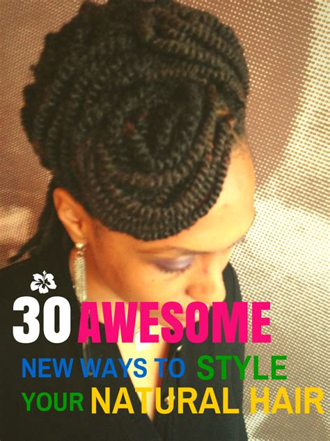 ways to style your hair 30 awesome new ways to style your hair