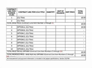 sample payment schedule 16 documents in pdf word With pricing schedule template