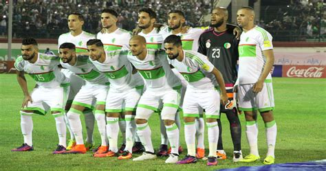 photo eliminatoires coupe du monde  algerie