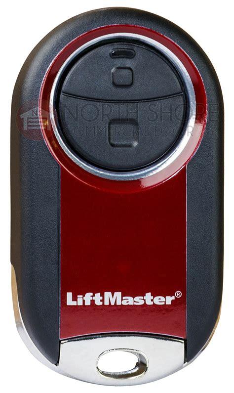 liftmaster garage door opener remote liftmaster 374ut universal keychain garage door opener remote