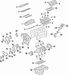 2008 Kia Sorento Engine Timing Chain