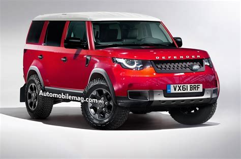land rover defender 2017 new land rover defender 2017 rendering