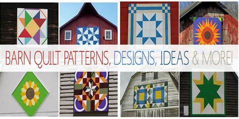 Barn Quilt Patterns, Designs, Ideas & More