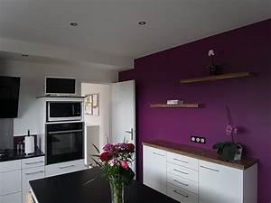 Decoration Peinture : cuisine peinture peinture frehel deco morbihan loire ~ Nature-et-papiers.com Idées de Décoration