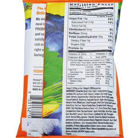 zutaten auf englisch konsument at organic mamma chia pro bar nakd cashew cookie auf kennzeichnen