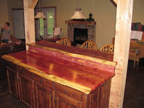 cedar bar  counter top  cedarcanoeman  lumberjocks
