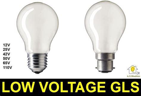 low voltage bulbs 12v 24v 42v 50v 65v 110v 25w 40w 60w e27