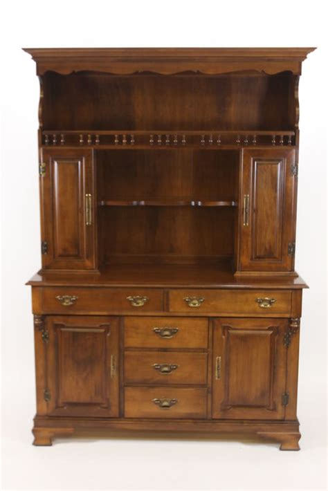 tell city china cabinet value tell city hutch for sale