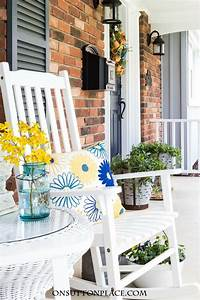 35 colorful porch ideas - Lolly Jane