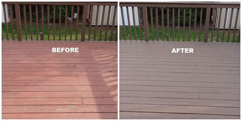 realize  repainting deck outdoors deck