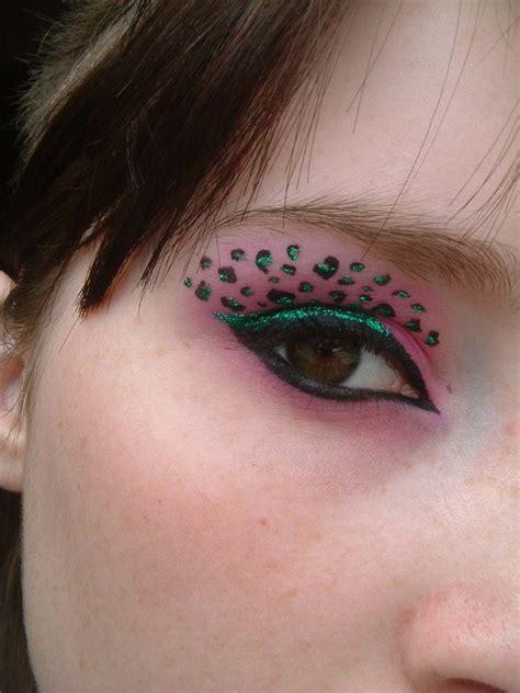 leopard make up brite eyez animal print eye makeup