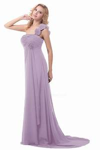 Empire one shoulder long chiffon bridesmaid dresses for Maternity dresses for wedding party